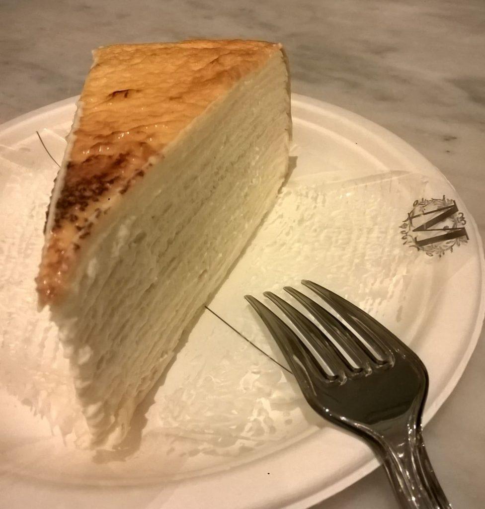 Lady M Mille Crepe Cake
