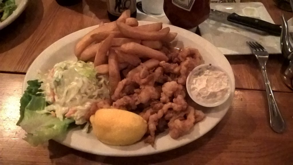 Fried Seafood Feast